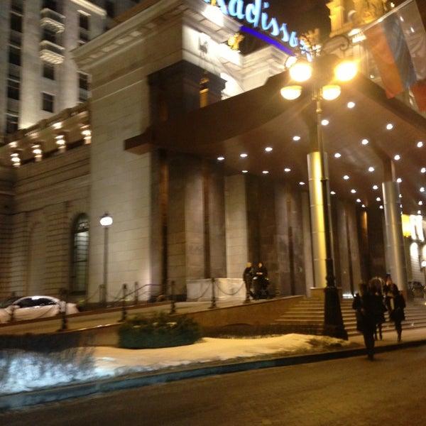 Foto scattata a Radisson Royal Hotel da Danil A. il 3/29/2013