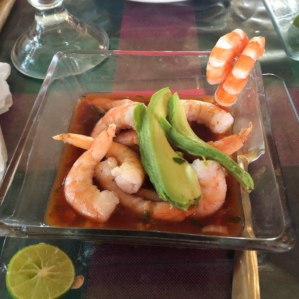 Solo probé el cóctel de camarón y está buenísimo! 🍤😃 El resto de la carta luce prometedora! Volveré para probar más! 😊
