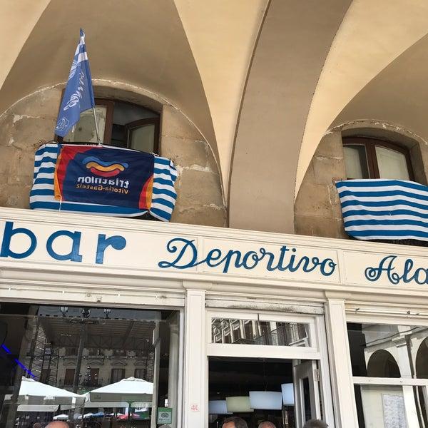 Снимок сделан в Bar Deportivo Alavés пользователем Charli 8/26/2017