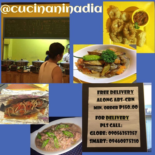 Cucina Ni Nadia Now Closed Cafeteria In South Triangle