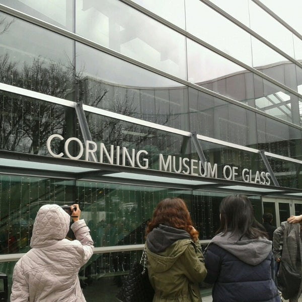 Photo prise au Corning Museum of Glass par Cheok W. le3/12/2013