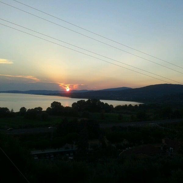 7/22/2013 tarihinde Jennifer P.ziyaretçi tarafından Passignano sul Trasimeno'de çekilen fotoğraf