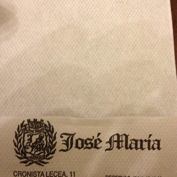 12/26/2012에 Fran H.님이 Restaurante José María에서 찍은 사진