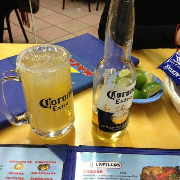 Снимок сделан в Ostionería Mazatlán пользователем Rafa M. 3/3/2013