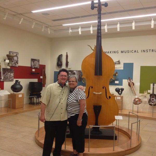 Photo prise au Musical Instrument Museum par Walt P. le7/23/2013