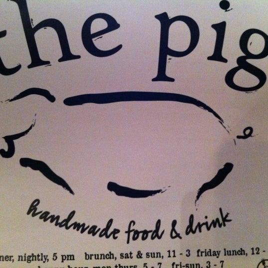 Снимок сделан в The Pig пользователем Elayne B. 10/27/2012