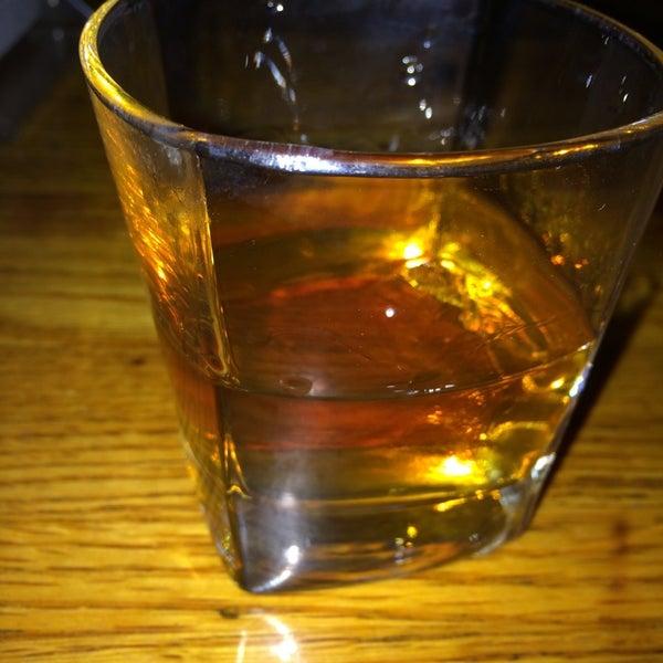 Order the Widow Jane bourbon neat.