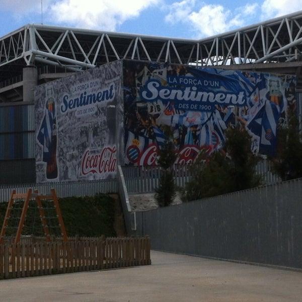 Foto diambil di RCDE Stadium oleh Miguel V. pada 4/3/2013