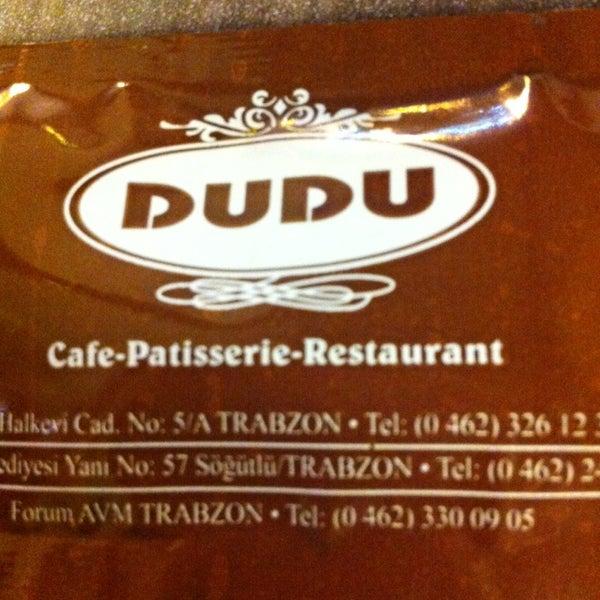 Foto tomada en Dudu Cafe Restaurant por Tuğba B. el 1/14/2013