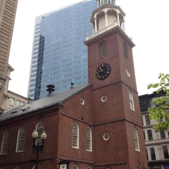 5/2/2012 tarihinde Eric A.ziyaretçi tarafından Old South Meeting House'de çekilen fotoğraf