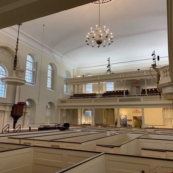 รูปภาพถ่ายที่ Old South Meeting House โดย Robert S. เมื่อ 5/23/2019
