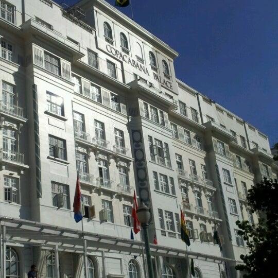 12/5/2012에 Sorys G V.님이 Belmond Copacabana Palace에서 찍은 사진