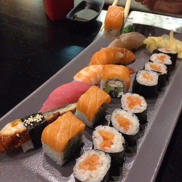 На данный момент самые вкусные суши в Москве