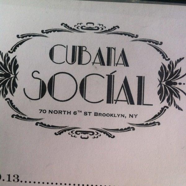 Foto diambil di Cubana Social oleh Anj pada 6/15/2013