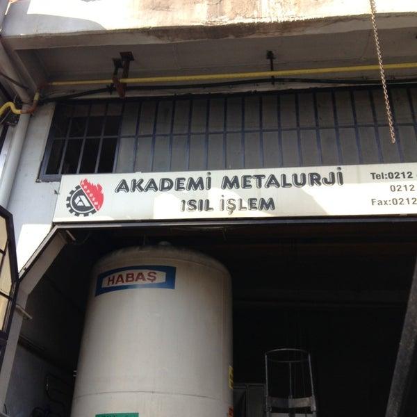 Akademi Metalurji Factory In Ziya Gokalp