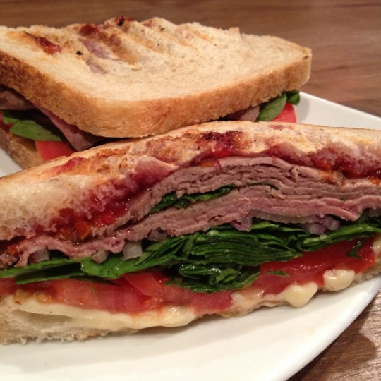 Try the roast beef and the red pepper relish--seriously divine!!!