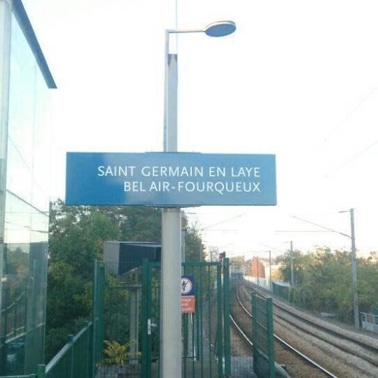 Photos At Gare Sncf De Saint Germain En Laye Bel Air Fourqueux