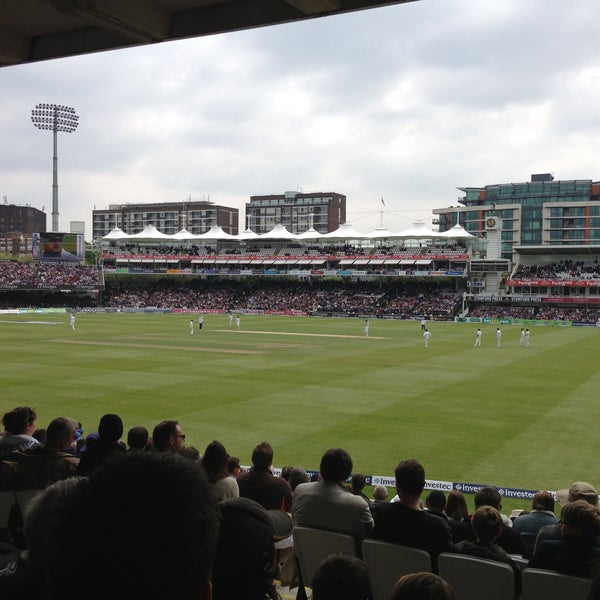 Foto tomada en Lord's Cricket Ground (MCC)  por Emily H. el 5/19/2013