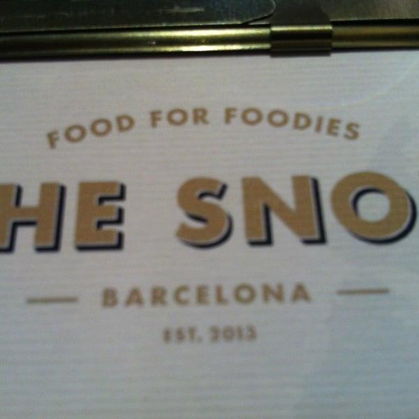 1/23/2013 tarihinde BonVivant.esziyaretçi tarafından The Snob'de çekilen fotoğraf