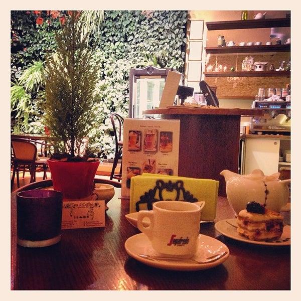 Photo taken at Tea & Coffee garden by Irina M. on 1/1/2013
