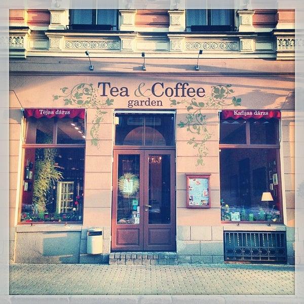 Photo taken at Tea & Coffee garden by Irina M. on 3/9/2013