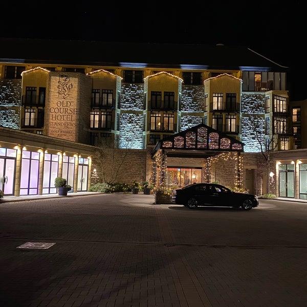 11/28/2019 tarihinde Simon F.ziyaretçi tarafından Old Course Hotel Golf Resort & Spa'de çekilen fotoğraf