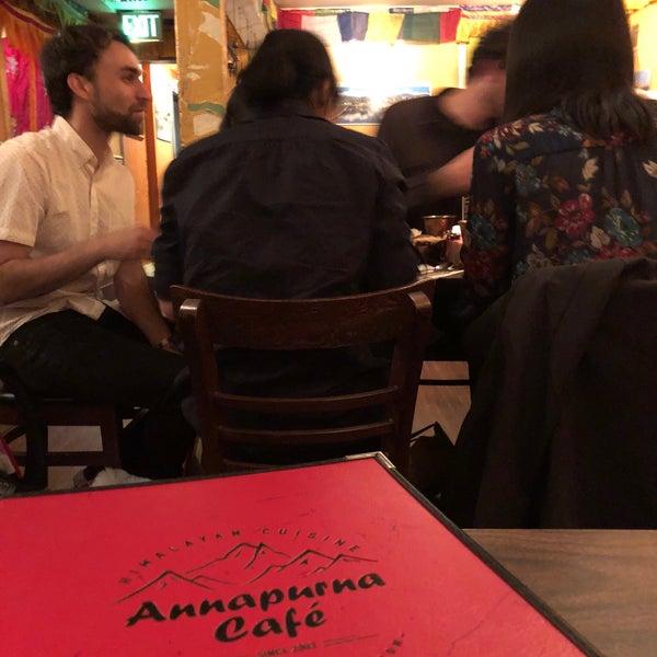 5/10/2018에 Max H.님이 Annapurna Cafe에서 찍은 사진