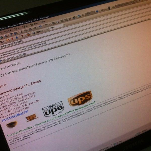 Photos at UPS - السلامة - Jeddah, Western Province