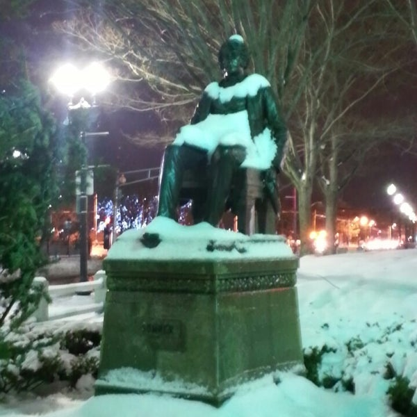 Photos at Charles Sumner Statue - Mid-Cambridge - 0 tips