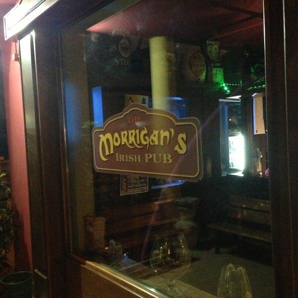 Снимок сделан в Morrigan's Irish Pub пользователем Alessandro I. 2/1/2013