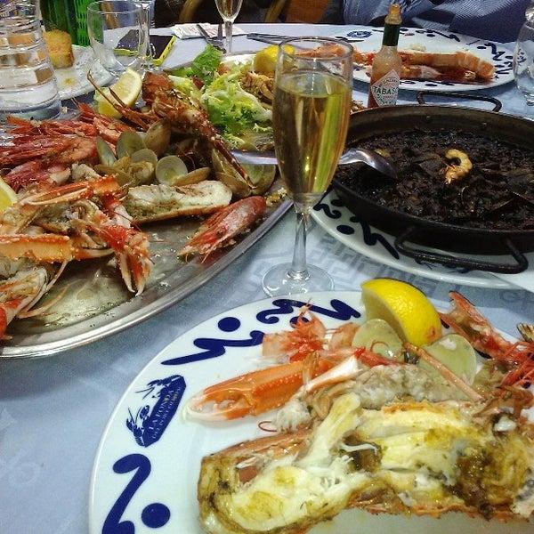 Das Foto wurde bei Restaurante Salamanca von Agustin A. am 2/22/2014 aufgenommen