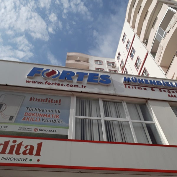 Fortes Muhendislik Dogalgazda Isitma Uzmani Office In Antalya