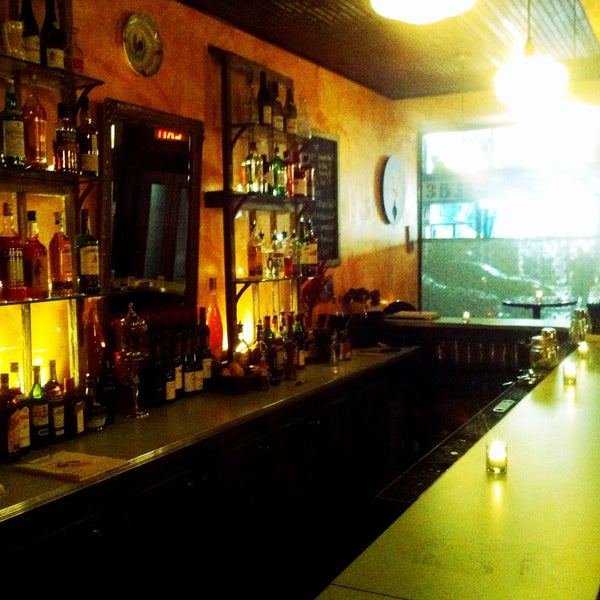 enticing bar!