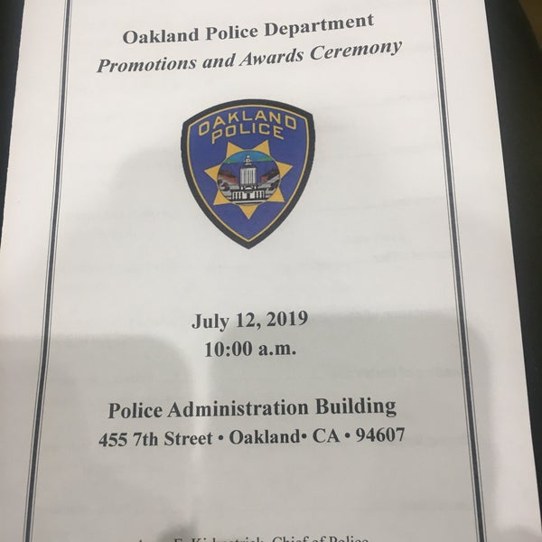 Oakland Police Department Police Administation Building