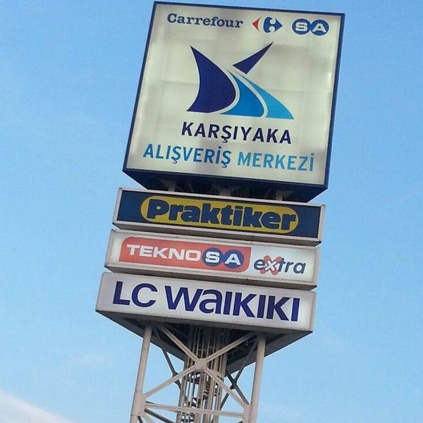5/14/2013 tarihinde Kutay D.ziyaretçi tarafından CarrefourSA Karşıyaka AVM'de çekilen fotoğraf