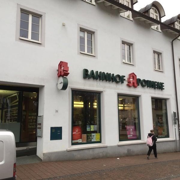 bahnhof apotheke schopfheim