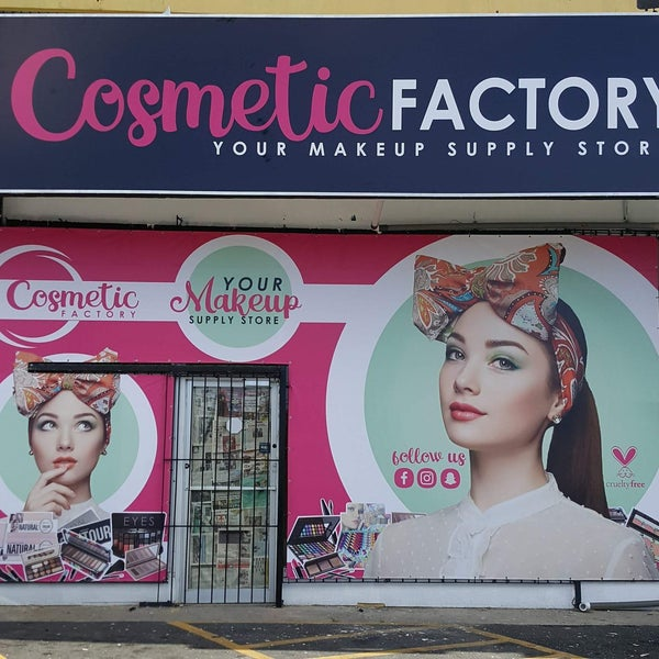 Cosmetic Factory - Cosmetics Shop
