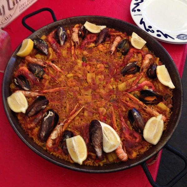 Das Foto wurde bei Restaurante Salamanca von Alberto P. am 3/2/2013 aufgenommen