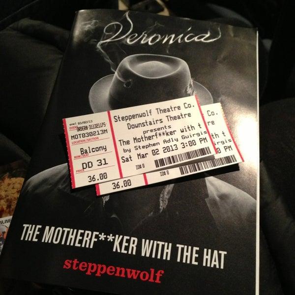 3/2/2013にRick D.がSteppenwolf Theatre Companyで撮った写真