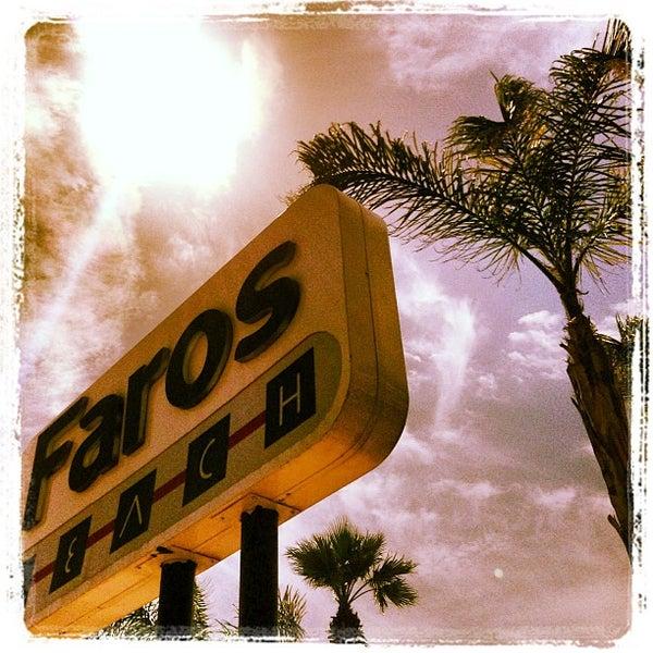 รูปภาพถ่ายที่ Vamos Beach โดย Faros B. เมื่อ 3/28/2013