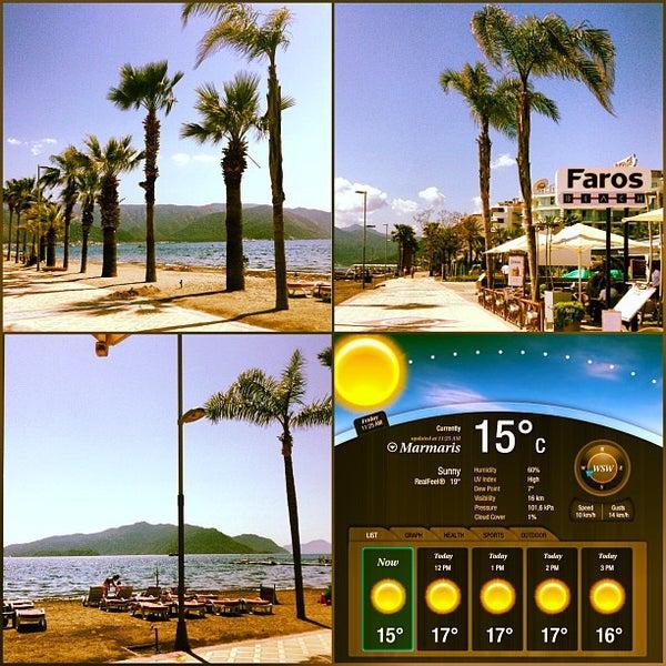 รูปภาพถ่ายที่ Vamos Beach โดย Faros B. เมื่อ 4/12/2013