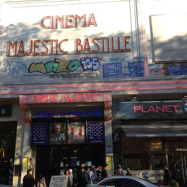Majestic Bastille - Indie Movie Theater in Roquette