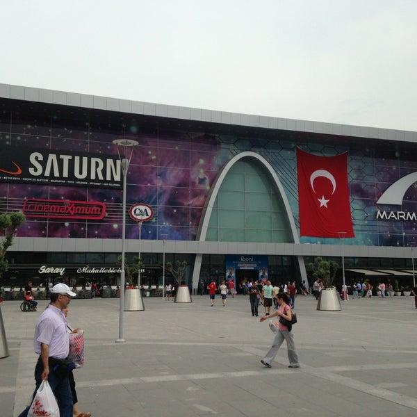 Снимок сделан в Marmara Park пользователем -/-/-/ -. 5/19/2013
