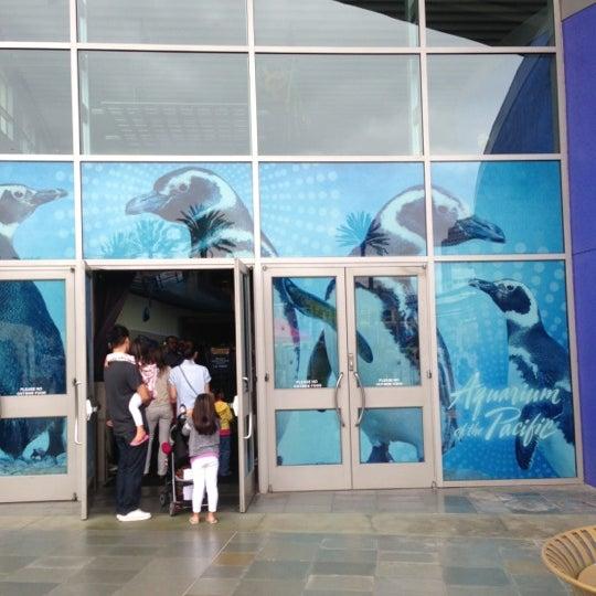 Das Foto wurde bei Aquarium of the Pacific von Sean M. am 10/20/2012 aufgenommen
