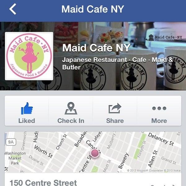 12/15/2013 tarihinde Kaskyrziyaretçi tarafından Maid Cafe NY'de çekilen fotoğraf