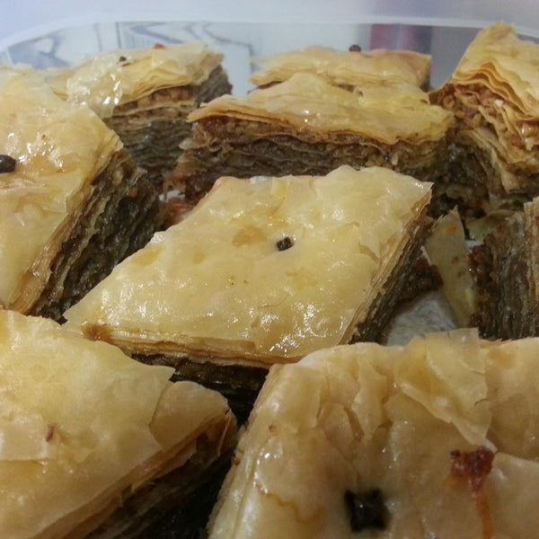 Stop by to get Mom's Homemade Baklava today at 51st & Park #GreekFood #Desserts #MomIsTheBest