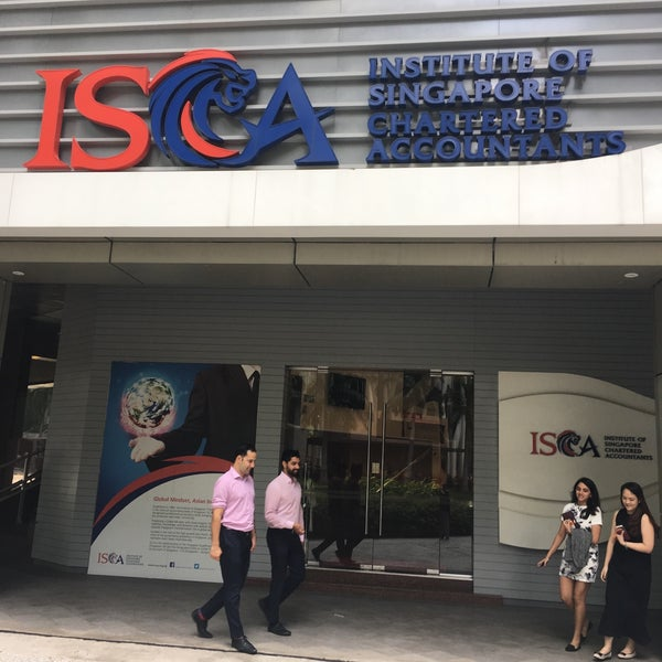 Photos at ISCA House Institute of Singapore Chartered