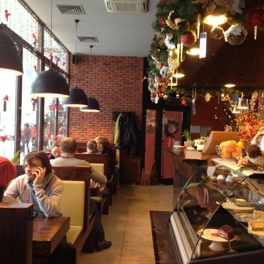 Photo prise au Cup&Cake / Кап&Кейк par Ekaterina G. le12/23/2012