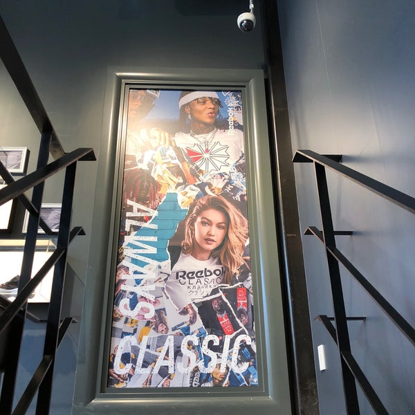 6080a9c3d09 Photo taken at Reebok CLASSIC Store Harajuku by Phoebe C. on 7 4