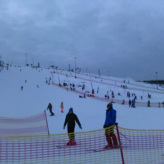 1/27/2013 tarihinde Алексей С.ziyaretçi tarafından Охта Парк'de çekilen fotoğraf